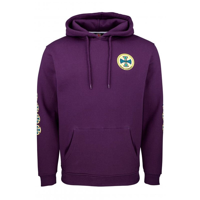 bluza INDEPENDENT - O.G.T.C Hood Deep Purple (DEEP PURPLE)