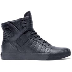 buty SUPRA - Skytop Black Black - Red (081)