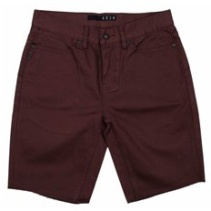 szorty KREW - K Slim 5 Pocket Shor Oxblood (602)