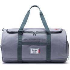torba podróżna HERSCHEL - Independent Sutton Mid Grey Crosshatch/Dark Shadow (02570)