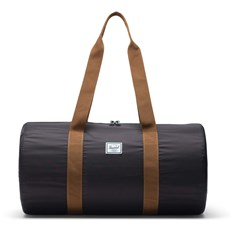 torba podróżna HERSCHEL - Packable Duffle Black/Saddle Brown (02739)