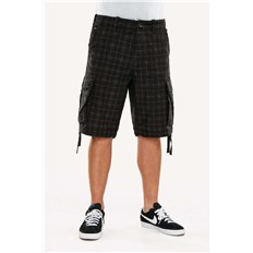 szorty REELL - New Cargo Short (CHEQUERED)