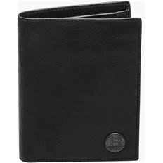 portfel REELL - Canvas Leather Wallet Black (BLACK)