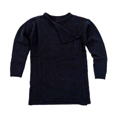 sweter ICHI - Merci Knitted cardigan Total Eclipse (14044)