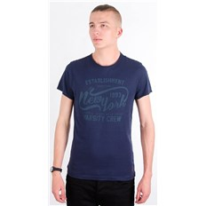 koszulka BLEND - T-shirt Box Navy 70230 (70230)