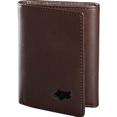 portfel FOX - Trifold Leather Wallet Brown (081)