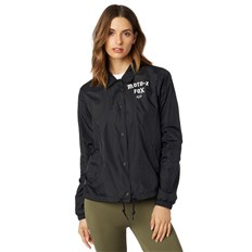 kurtka FOX - Pit Stop Coaches Jacket Black (001)