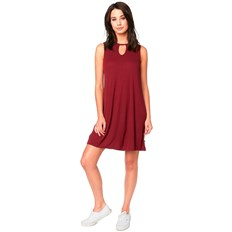 sukienka FOX - Bay Meadow Dress Cranberry (527)