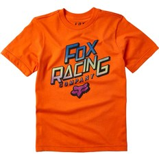 koszulka FOX - Youth Cruiser Ss Tee Orange Flame (104)