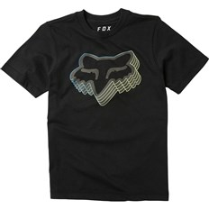 koszulka FOX - Youth Warp Speed Ss Tee Black (001)