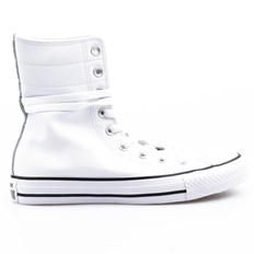 CONVERSE - CT AS Hi-Rise Seasonal White/Black/White (WHITE/BLACK/WHITE)