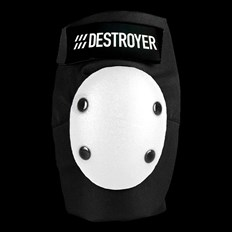 ochraniacze DESTROYER - Am Elbow Black/White (BWT)