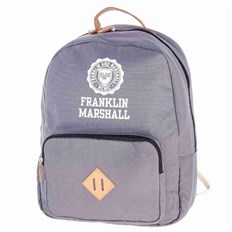 plecak FRANKLIN & MARSHALL - Classic backpack - grey solid (04)