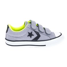 buty CONVERSE - Star Player Ev 3V Dolphin/Black/Safety Yellow (DOLPHIN/BLK/SAFETY Y)