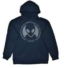 bluza ALIEN WORKSHOP - Defenders Navy Modra (MODRA)
