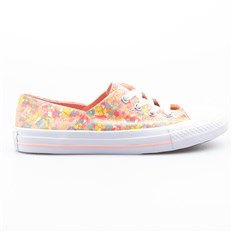 CONVERSE - Chuck Taylor All Star Coral Vapor Pink/Sunset Glow/Porpoise/White (PINK GLOW-WHT)