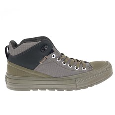CONVERSE - Chuck Taylor All Star Street Boot Medium Olive/Black/Sequoia (MED OLIVE-BLACK-SEQ)