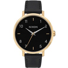 zegarek NIXON - Arrow Leather Goldblack (513)