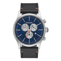 zegarek NIXON - Sentry Chrono Leather Bluesunray (1258)