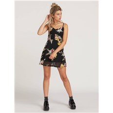 sukienka VOLCOM - Slushy Hour Dress  Black Combo (BLC)