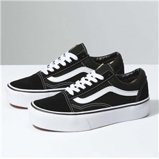 buty VANS - Old Skool Platform Black/White (Y28)