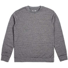 bluza BRIXTON - Basic Crew Fleece Heather Grey (HTGRY)