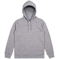 bluza BRIXTON - Basic Hood Fleece Heather Grey (HTGRY)
