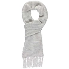 szalik BENCH - Metallic Interest Scarf Snow White (WH11210)