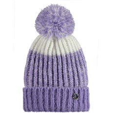 BENCH - Turn Up Bobble Beanie Light Purple (PU132)