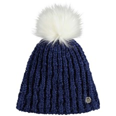 BENCH - Turn Up Bobble Beanie Blue Depths (BL145)