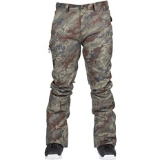 spodnie BONFIRE - Surface Stretch Pant Olive Camo (OLV)