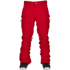 spodnie BONFIRE - Zone Stretch Pant Red (RED)