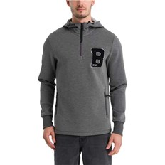 BENCH - Overhood Sweat Dark Grey Marl Winter (MA1053)