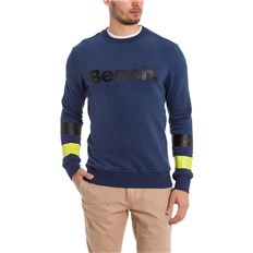 bluza BENCH - Crew Neck Corp Dark Navy Blue (NY013)