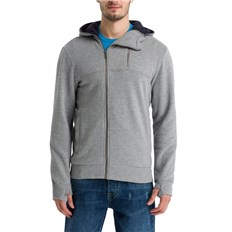 bluza BENCH - Her. Double Zip Hoodie Winter Grey Marl (MA1054)