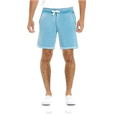 szorty BENCH - Overdye Short Dark Turquoise Blue (TQ017)