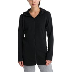 kurtka BENCH - Long Embossed Neoprene Jacket Black Beauty (BK11179)