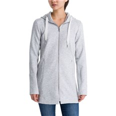 kurtka BENCH - Long Embossed Neoprene Jacket Summer Grey Marl (MA1026)