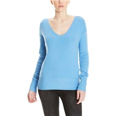 bluza BENCH - Basic V-Neck Jumper Lichen Blue (BL11342)