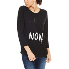 BENCH - Print Raglan 3/4 Tee Black Beauty (BK11179)