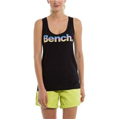 podkoszulka BENCH - Corp Logo Tank Top Black Beauty (BK11179)