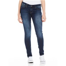BENCH - Skinny Sweat Denim Dark Worn Blue Dark Vintage (DW1031)
