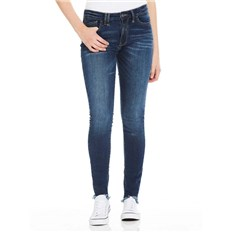BENCH - Skinny Mid Worn Blue Dark Worn (DW1030)