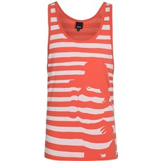 podkoszulka BENCH - Stripey Chick Vest  Orange (OR048)