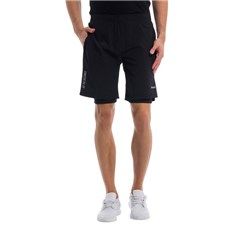 szorty BENCH - 2 In 1 Shorts Black Beauty (BK11179)