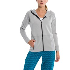 bluza BENCH - Active Zip Through High Rise Marl (MA1024)