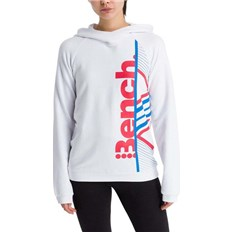 bluza BENCH - Active Logo Hoodie Bright White (WH11185)