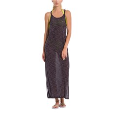 sukienka BENCH - Maxi Dress Anthracite Marl (MA1017)