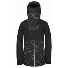 kurtka CLWR - Block Jacket Black Marble (903)