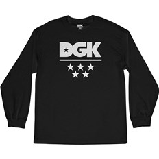 koszulka DGK - All Star L/S Tee Black (BLACK)